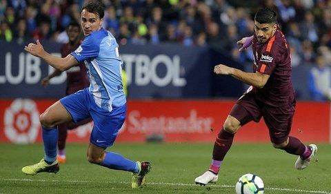 Malaga 0-2 Barcelona