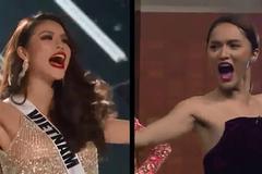 Chết cười xem Hương Giang 'tập luyện' để thi hoa hậu 2 năm trước