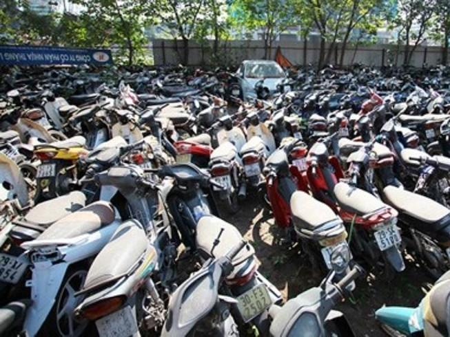 Đặt tiền bảo lãnh phương tiện giao thông bị tạm giữ