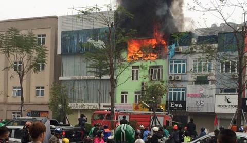 cháy Ô chợ dừa