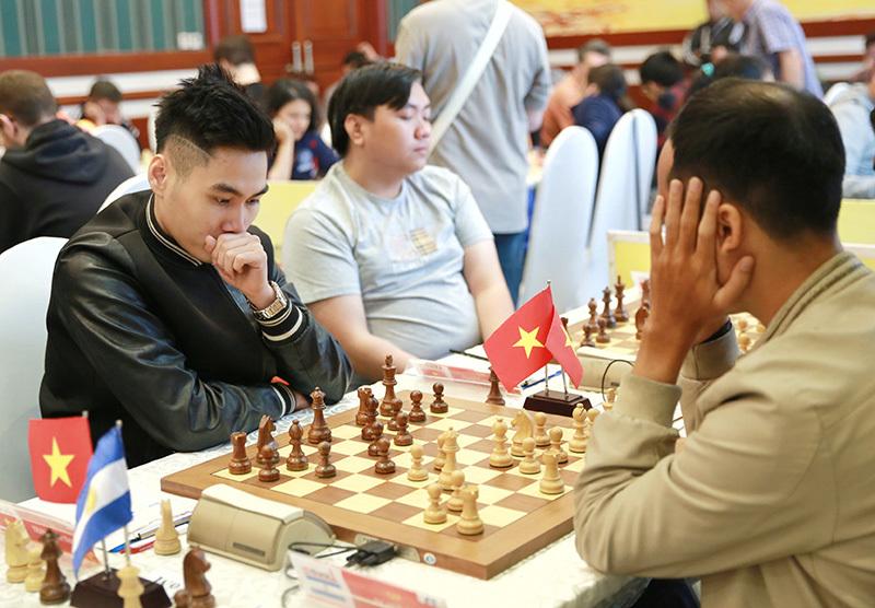 Trần Tuấn Minh thăng hoa ở giải cờ vua lớn nhất Việt Nam