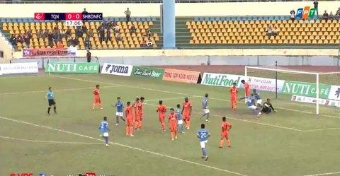 Than Quảng Ninh 1-0 SHB Đà Nẵng: Eydison mở tỷ số