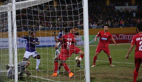 Hà Nội 0-0 Hải Phòng: Đặng Văn Lâm cứu thua