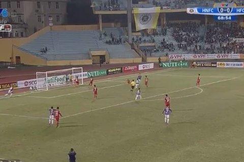 Hà Nội 1-0 Hải Phòng: Văn Đại mở tỷ số