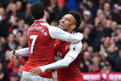 "Aubameyang, Mkhitaryan giúp Arsenal thắng ""3 sao"""