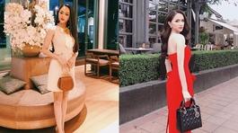 Hoa hậu Hương Giang diện đồ cực chất trên đất Thái
