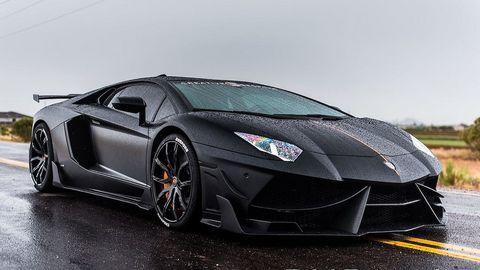Mẫu xe độ Lamborghini Aventador độc lạ của DMC