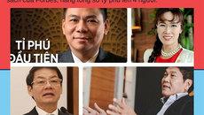 Phát hiện 'bí mật' bất ngờ trong bảng xếp hạng người giàu của Forbes