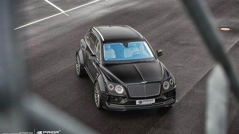 Xe độ Bentley Bentayga cực ngầu với widebody Prior Design