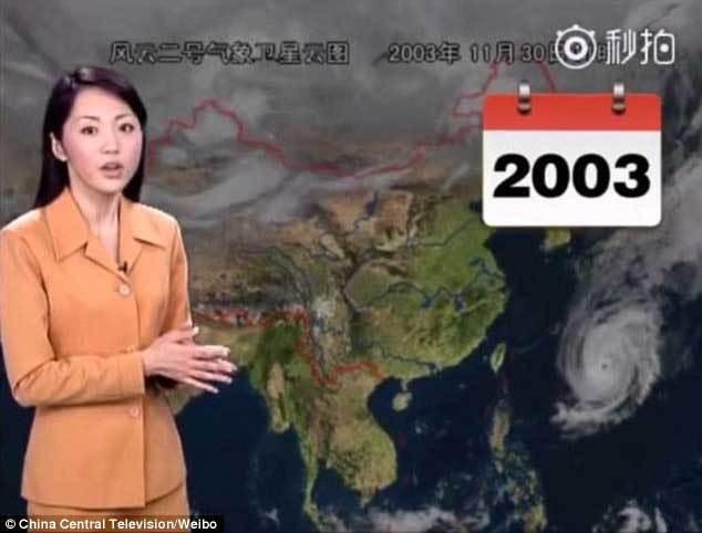 Ngắm nữ MC thời tiết 22 năm nhan sắc không đổi
