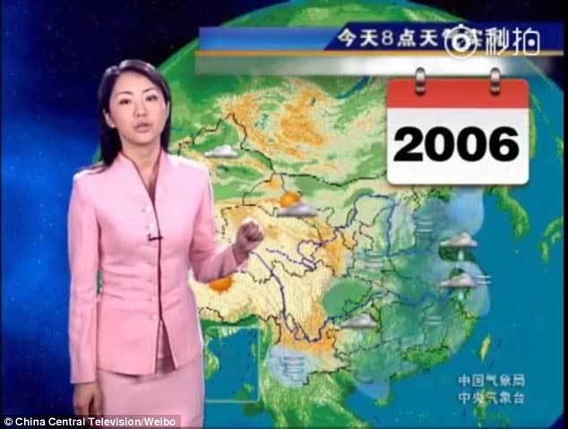 MC thời tiết,người dẫn chương trình,nhan sắc không đổi,Trung Quốc