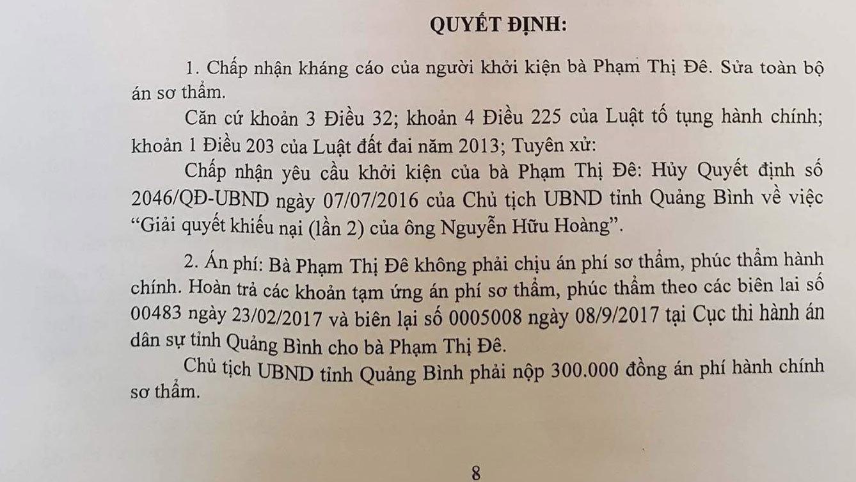 Chủ tịch tỉnh,Quảng Bình