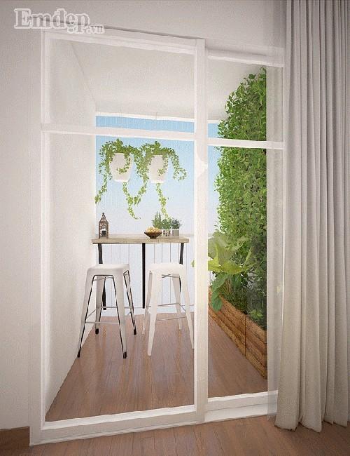 Độc đáo căn hộ nhỏ xinh 'vạn người mê' với thiết kế tối giản bất ngờ