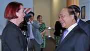 Thủ tướng đến Auckland, bắt đầu thăm chính thức New Zealand