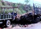 Lật xe chở 10 tấn dưa hấu tại Phú Yên, 2 người tử vong tại chỗ