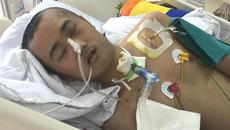 Vợ mang bầu 5 tháng, chồng gặp tai nạn nguy kịch