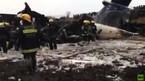 Máy bay lao khỏi đường băng, bốc cháy ngùn ngụt