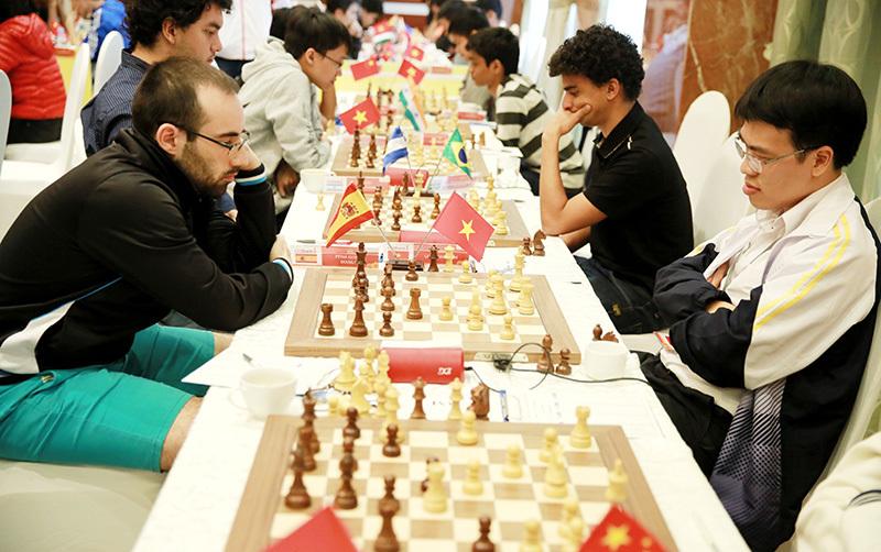 Giải cờ vua HDBank 2018,Lê Quang Liêm,cờ vua Việt Nam,cờ vua