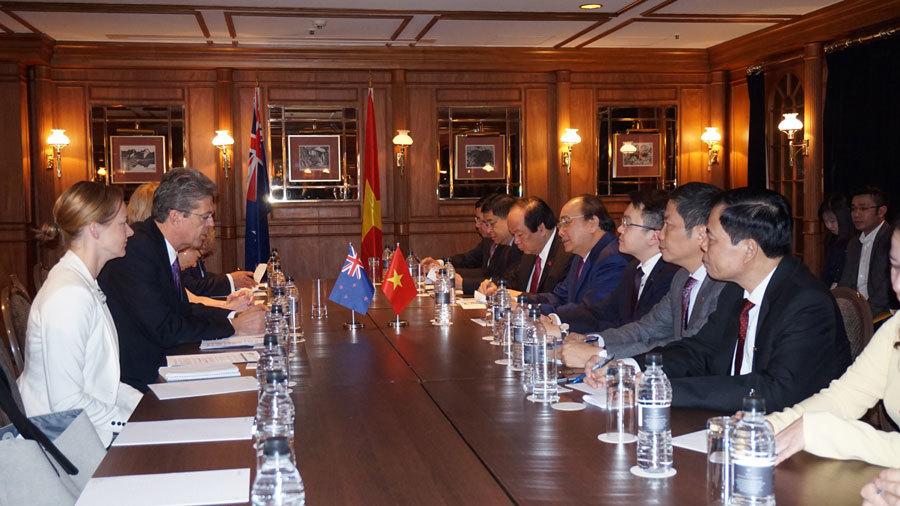 Nguyễn Xuân Phúc,Thủ tướng,New Zealand,Thủ tướng Nguyễn Xuân Phúc