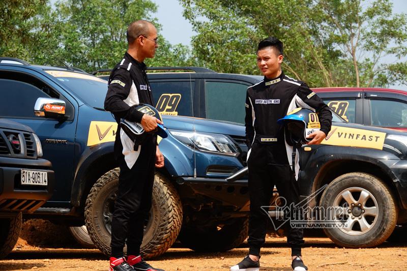 Quang Hải,Ngọc Hân,giải đua xe địa hình KOK