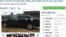 Những chiếc ô tô cũ này đang rao bán giá 300 triệu tại Việt Nam