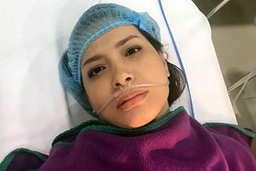 Sau 2 tháng cắt bỏ tử cung, Thúy Hạnh lại nhập viện cấp cứu