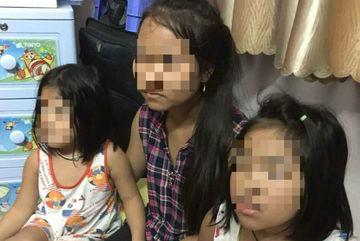 Gặp người cha nghi bắt cóc 2 con ruột để tống tiền mẹ