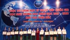 Hà Nội, Nghệ An dẫn đầu phía Bắc về giải thưởng sáng tạo khoa học kỹ thuật