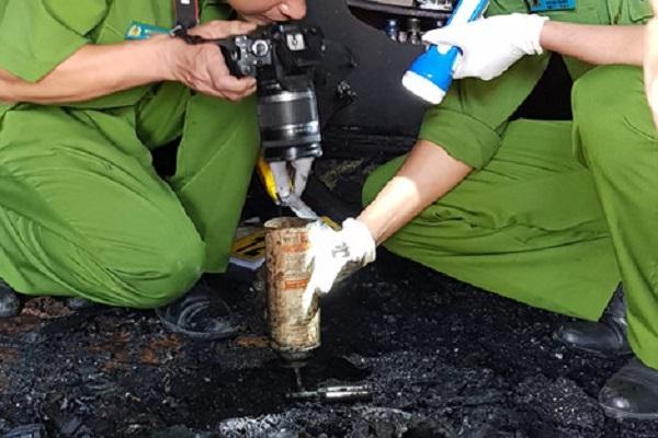 phóng hỏa,giải quyết mâu thuẫn,phóng hỏa đốt nhà tại Đà Lạt,Công an tỉnh Lâm Đồng,Trần Văn Quốc,camera an ninh