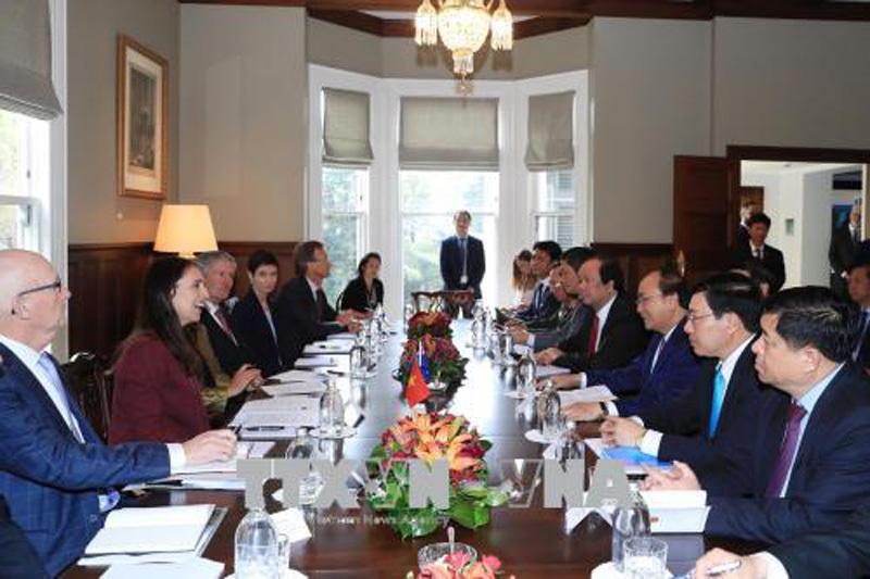 Thủ tướng Nguyễn Xuân Phúc,New Zealand,Thủ tướng,Nguyễn Xuân Phúc