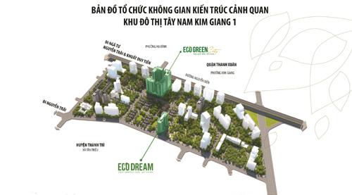 Eco Dream City- điểm sáng thị trường BĐS Tây Nam Kim Giang