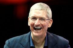Giá trị thị trường Apple vừa cán mốc cao chưa từng có