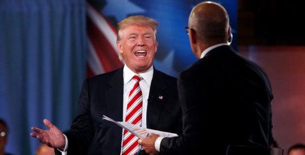 Món quà lớn bất ngờ cho ông Trump