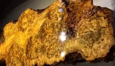 bàn trà gỗ nu long não
