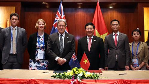 Phó Thủ tướng,Bộ trưởng Ngoại giao Phạm Bình Minh,New Zealand