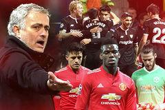 MU hỗn loạn và triều đại Mourinho đến hồi kết