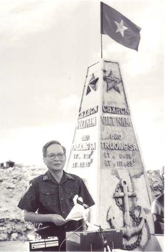 Gạc Ma,Trường Sa,Gạc Ma 1988,Đại tướng Lê Đức Anh,Hải quân Việt Nam