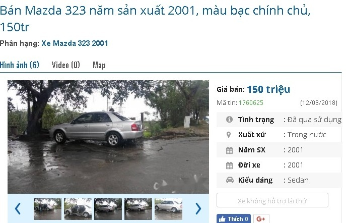 Những chiếc ô tô cũ này đang rao giá 150 triệu tại Việt Nam