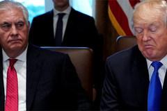 Vì sao ông Trump sa thải Ngoại trưởng Tillerson?