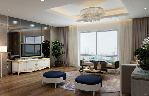 Hà Nội Paragon mạnh tay đầu tư nội thất cho căn hộ
