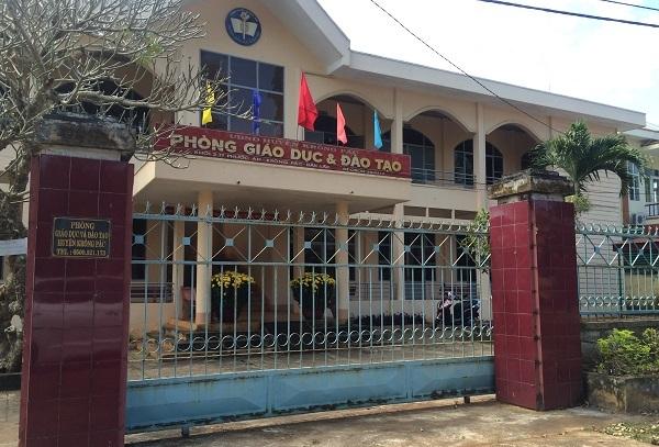 chạy việc,giáo viên hợp đồng,tố cáo,điều tra,Công an tỉnh Đắk Lắk,Krông Pắk,Y Suôn Byă,Nguyễn Sỹ Kỷ