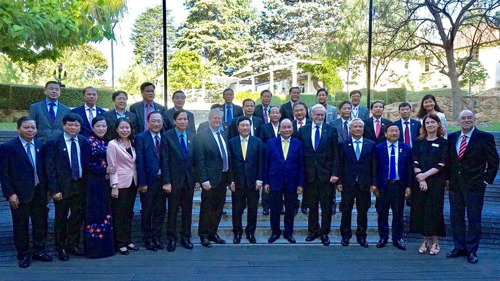Thủ tướng,Thủ tướng Nguyễn Xuân Phúc,Nguyễn Xuân Phúc,Australia