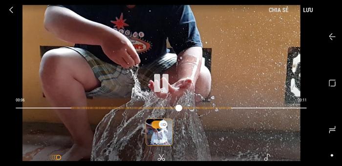 Trải nghiệm tính năng Slow Motion kỳ ảo trên Galaxy S9+