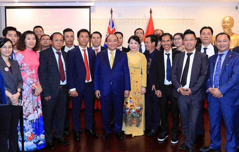 Thủ tướng gặp gỡ kiều bào tại Australia