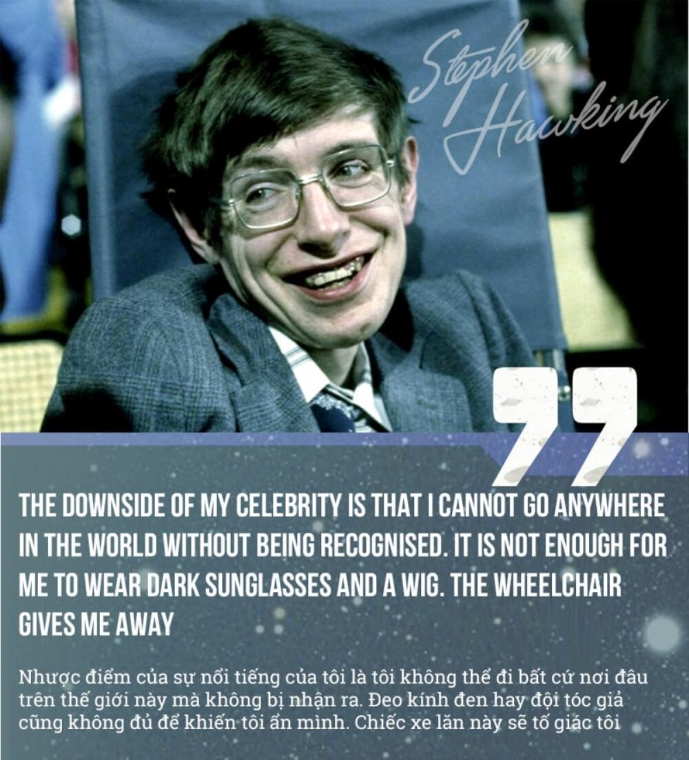 Những câu nói nổi tiếng của Stephen Hawking - ảnh 3