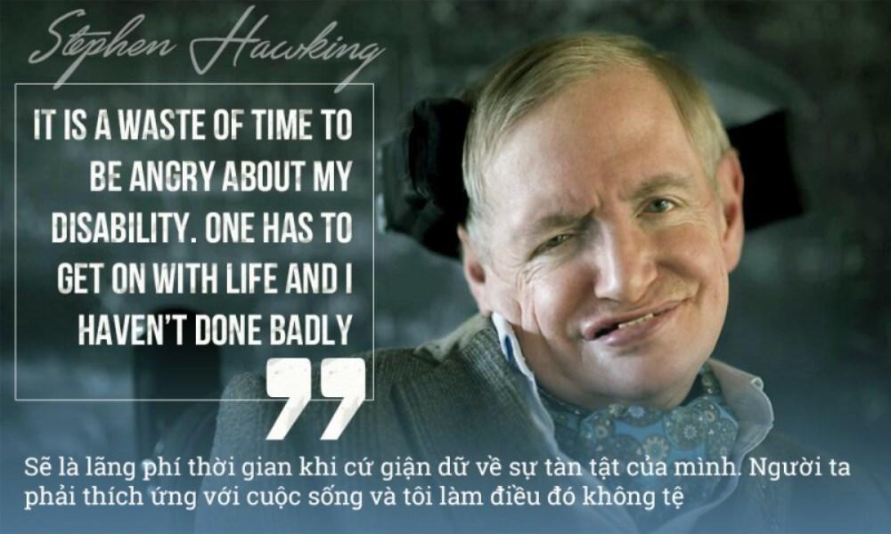 Những câu nói nổi tiếng của Stephen Hawking - ảnh 4