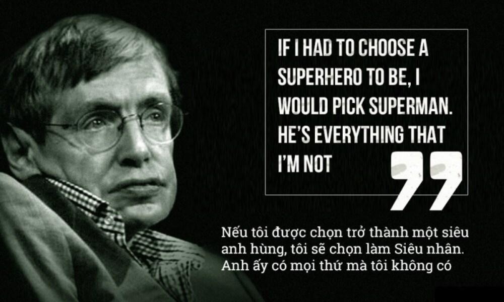 Những câu nói nổi tiếng của Stephen Hawking - ảnh 5