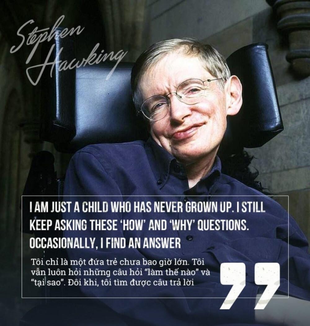 Những câu nói nổi tiếng của Stephen Hawking - ảnh 6