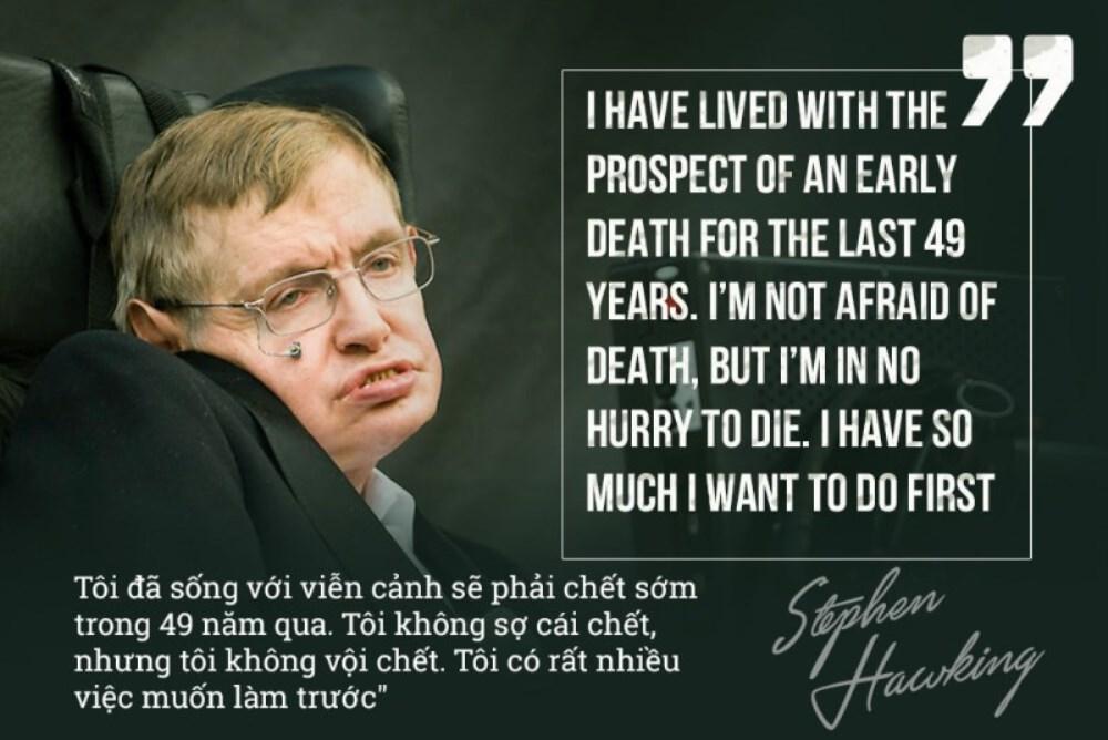 Những câu nói nổi tiếng của Stephen Hawking - ảnh 7