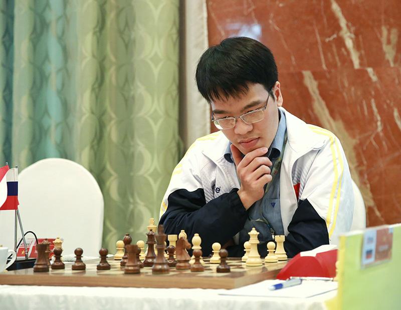 Lê Quang Liêm hết cơ hội bảo vệ ngôi vô địch Cờ vua HDBank